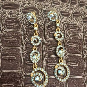 Beautiful light blue  earrings